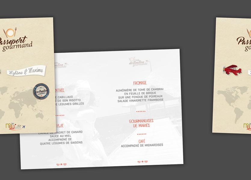 Populaire Menus, étiquettes et plan de salle - Precioustimes WM46